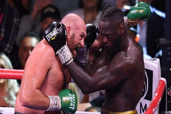 Latest on Tyson fury and Deontay wilder