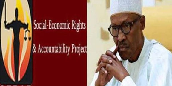SERAP advises Buhari to cut the N26 billion presidential budget for the medical center, travels, and meals.