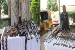 Police arrest 3 suspected gun runners with over 500 ammunition in Niger