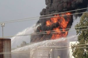 Latest Breaking International Business News: Fire breaks out at Lebanese Oil Facility of Zahrani