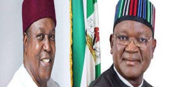 Latest Breaking News About Taraba State: Governor Ortom condoles with Governor Ishaku, Jukun Traditional Council