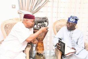 Latest Breaking Political News In Nigeria Today: Former Senate President, Nnamani visits Asiwaju Tinubu, hails democratic contribution