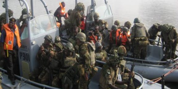 Latest Breaking News About Oil Bunkering In Nigeria: Navy arrest 5 suspects for illegal bunkering, seizes vessel