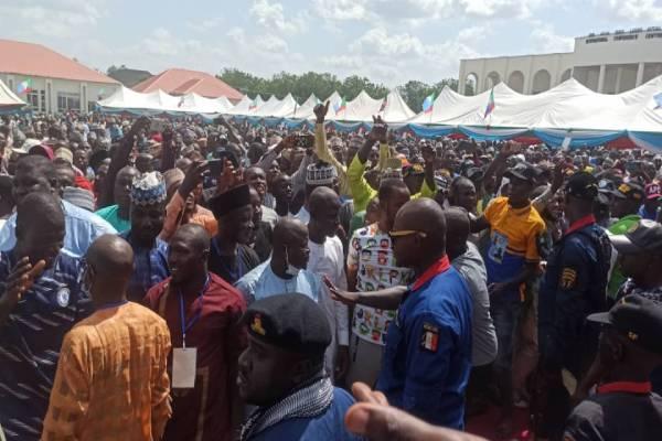 Latest Breaking Political News in Nigeria Today : Haliru Jikantoro emerges APC Chairman in Niger State