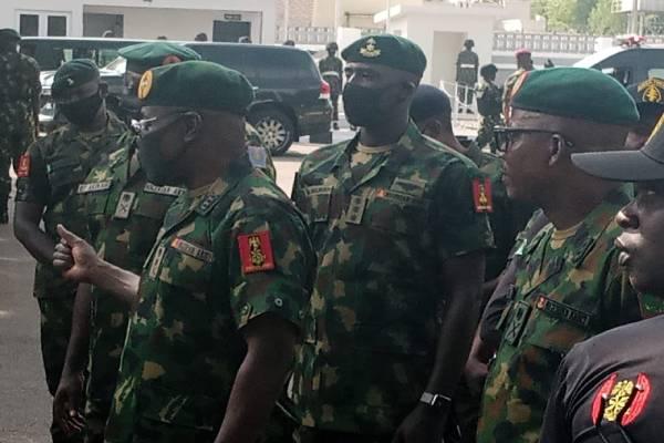 COAS visits Sokoto to assess ongoing operations at 8th Division
