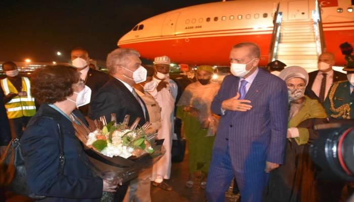 Buhari receives Turkish president Recep Erdogan in Abuja
