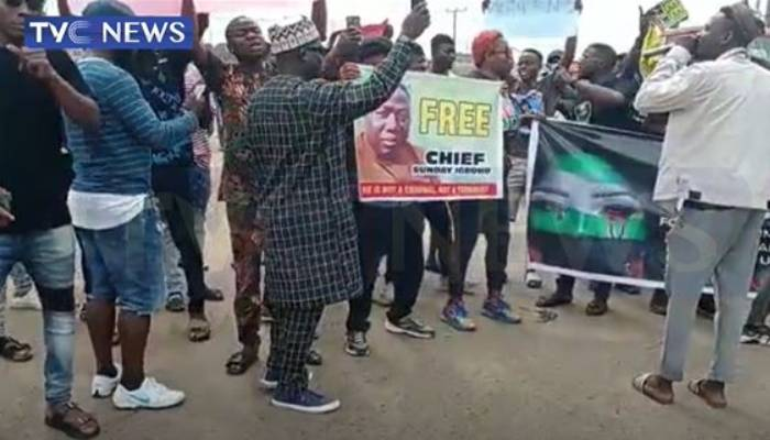 Youths protest in Oyo to mark one year anniversary of Endsars
