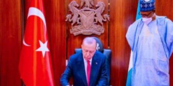 Turkey, Nigeria sign eight major agreements on energy, defense, indutr, mining