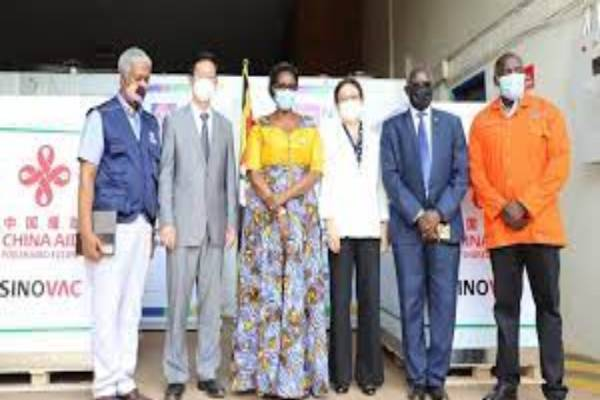 COVID-19: Uganda receives second batch of vaccines donated by China