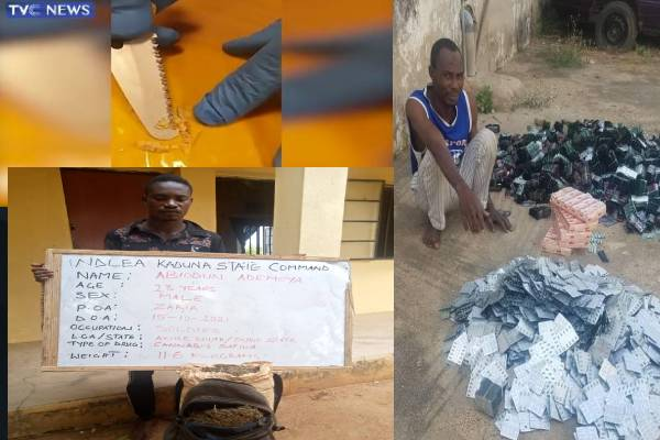 NDLEA intercepts 2,060kg of illicit drugs at MMIA, Lagos, Ondo, Edo, Kano