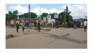 Latest Breaking News About Michael okpara University: Umudike Student crushed to death as protest rocks Umuahia