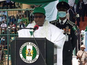 Gov Lalong pardons four inmates to mark Nigeria's 61st anniversary