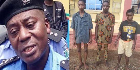 Police arrest teenagers for robbery, murder in Ogun