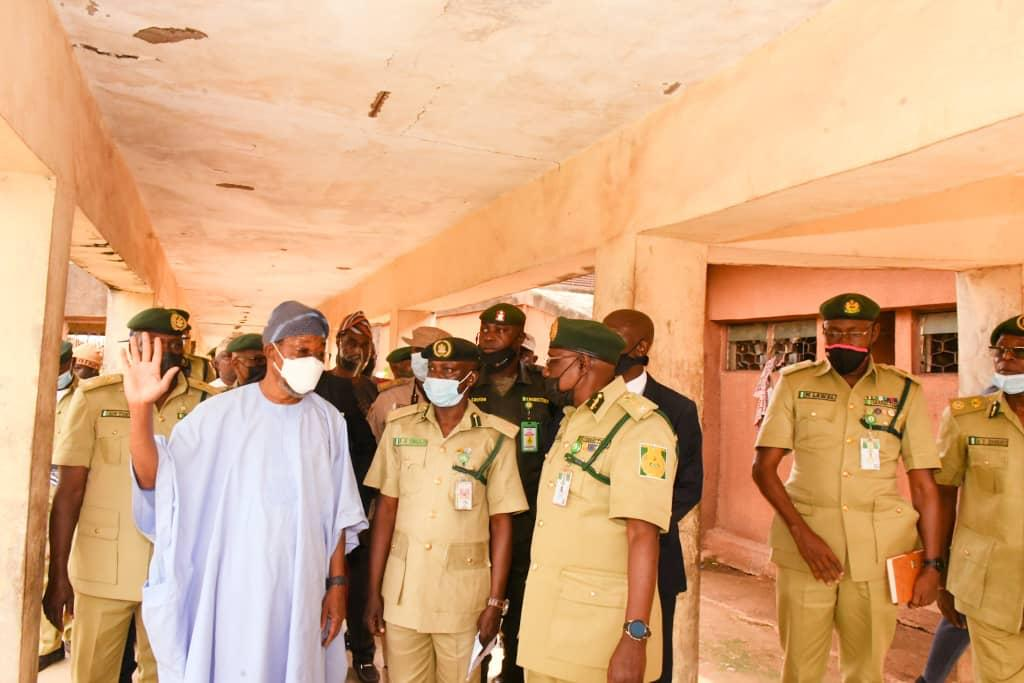 Aregbesola promises to recapture all escaped inmates