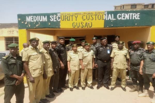 Zamfara Police Commissioner visits Correctional Facility in Gusau