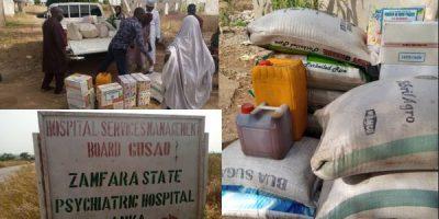 Zamfara Govt distributes relief items to victims if attack