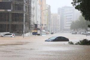 Cyclone Shaheen hits Oman, Iran