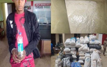 NDLEA intercepts fake soldier with drugs, walkie-talkie sets, ammunition, ATM, simcards for bandits