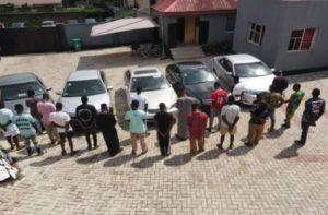 EFCC arrests 22 persons for alleged internet fraud in Ogbomoso