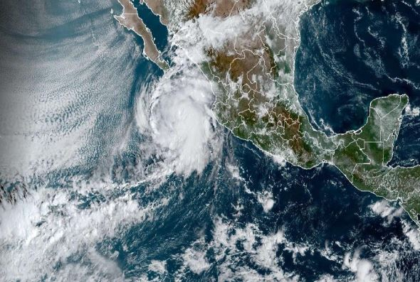 Tropical storm Pamela on path to hit Mexico