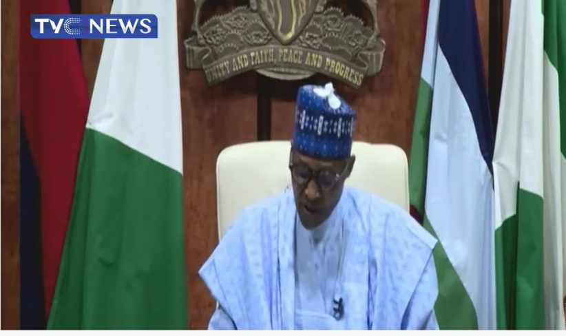 Latest Breaking Political News In Nigeria: President Buhari addresses Nigerians on 61st Independence anniversary