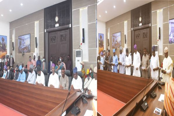 Governor Makinde swears in five newly appointed Commissioner nominees