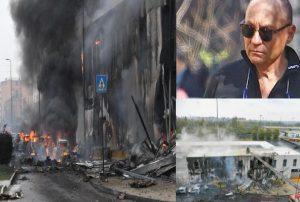 Romanian billionaire, Dan Petrescu, seven others die in Milan plane crash