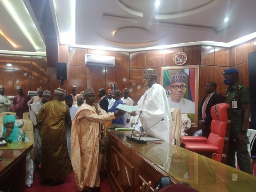Governor Matawalle swears-in 14 local government administrators